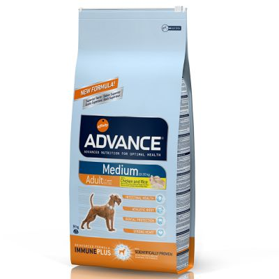 Advance Medium Adult pollo y arroz