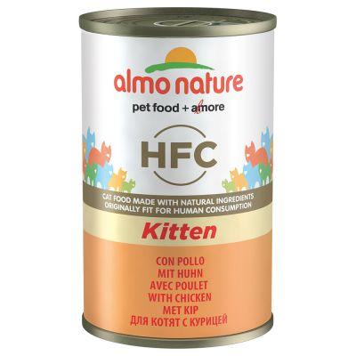 Almo Nature Classic Kitten 6 x 140g pour chaton