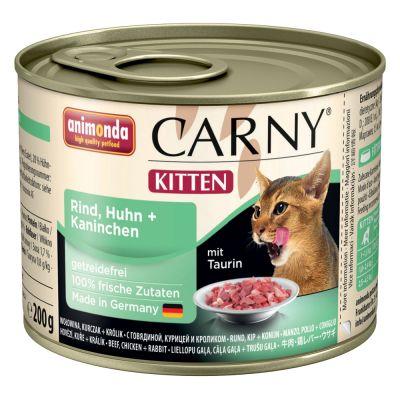 Animonda Carny Kitten Saver Pack 12 x 200g