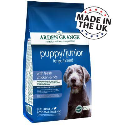 Arden Grange Large Dog Ingredients
