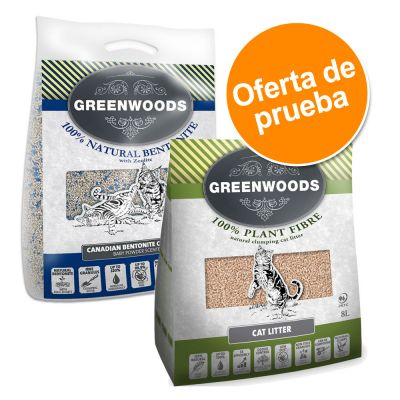 Arena Greenwoods - Pack de prueba ¡con gran descuento!