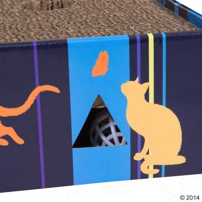 Bloque rascador Scratch & Play para gatos