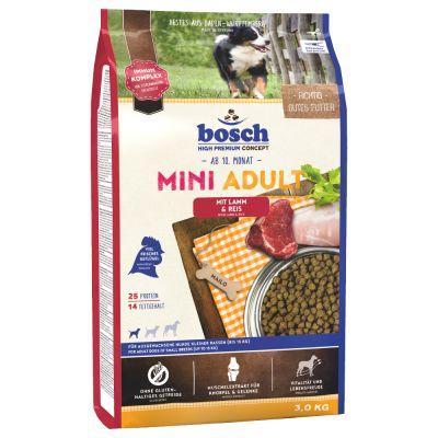Bosch Adult Mini Lamb & Rice, jagnięcina i ryż