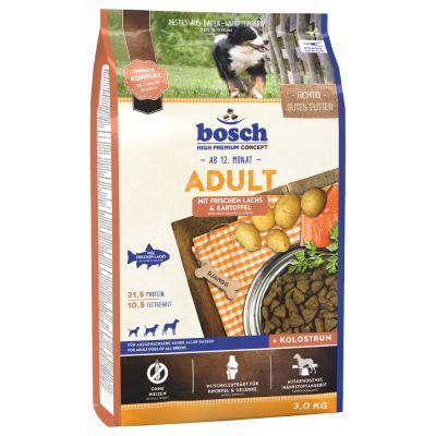 Bosch adult saumon pommes de terre croquettes pour chien zooplus - Race de pomme de terre ...