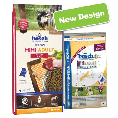 Bosch Mini Adult Lamb & Rice