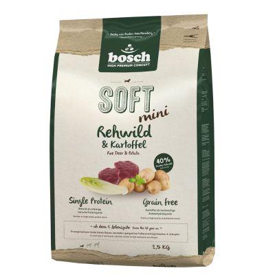 bosch soft mini rehwild kartoffel g nstig bei zooplus. Black Bedroom Furniture Sets. Home Design Ideas