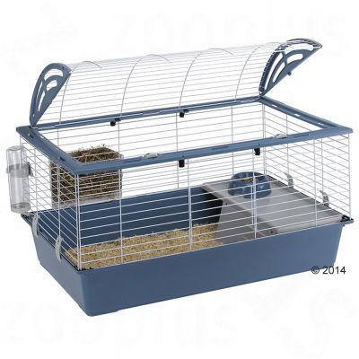 Cage Casita 100 Ferplast pour lapin et cochon d'Inde