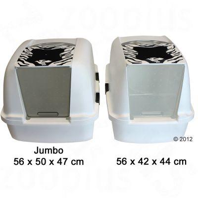 catit jumbo white tiger litter box