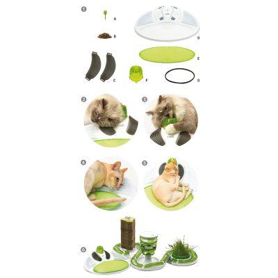 catit senses 2 0 wellness center great deals at zooplus. Black Bedroom Furniture Sets. Home Design Ideas