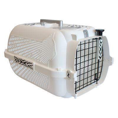 Catit Voyageur White Tiger Pet Carrier - White