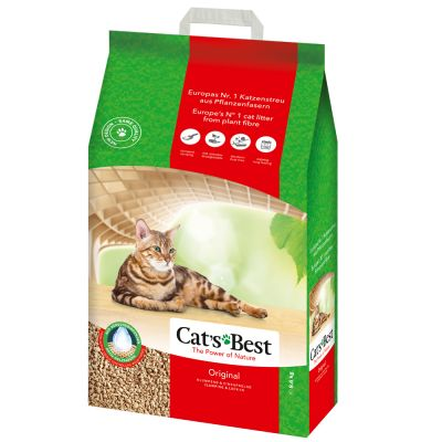 Cat's Best EcoPlus Original, żwirek zbrylający