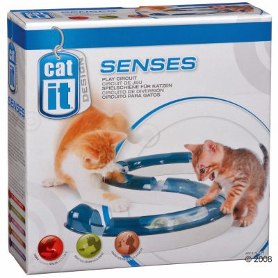 catit design senses circuit de jeu pour chat zooplus. Black Bedroom Furniture Sets. Home Design Ideas