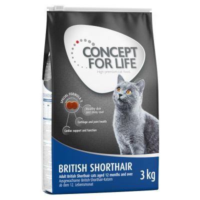 Cat food for british shorthair