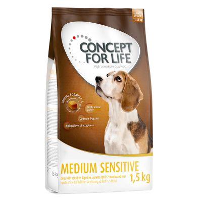 Concept for Life Medium Sensitive