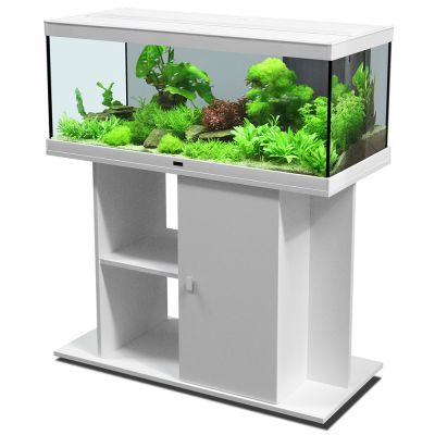 aquatlantis style led 100 x 40 ensemble aquarium sous meuble zooplus. Black Bedroom Furniture Sets. Home Design Ideas