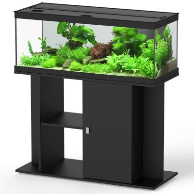 Aquatlantis style led 100 x 40 ensemble aquarium sous for Aquarium en solde