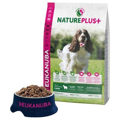 Eukanuba NaturePlus+ Adult Medium Dog Lam Hondenvoer