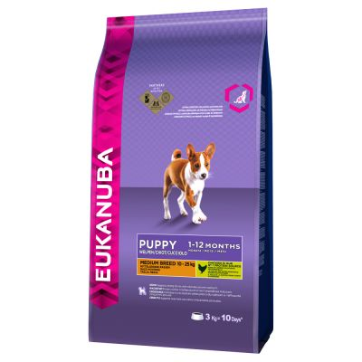 Eukanuba Puppy Food >> Eukanuba Puppy Medium Breed | Hondenvoer van Eukanuba bij zooplus!