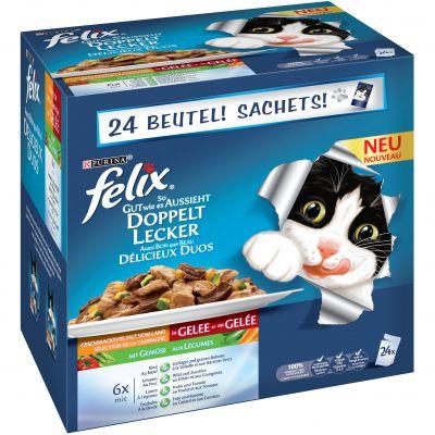 Felix Le Ghiottonerie doppia delizia 48 x 100 g