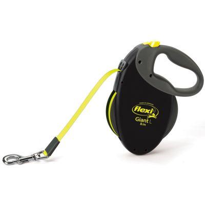 flexi Neon Dog Lead - Large 8m