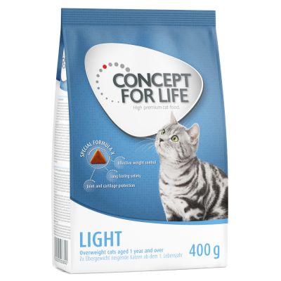 400 g Concept for Life Trockenfutter + 12 x 85 g Nassfutter in Soße
