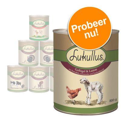Gemengd proefpakket Lukullus 6 x 200 g / 400 g / 800 g