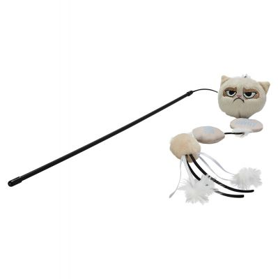 Grumpy Cat Annoying Plush Cat Dangler