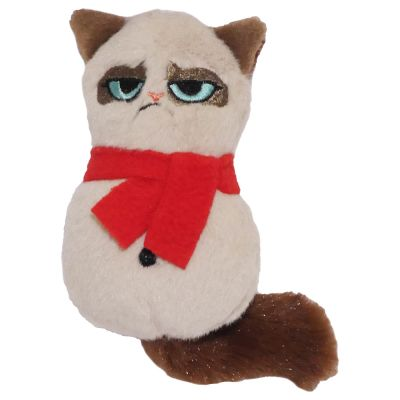 Grumpy Cat Plush Snowman
