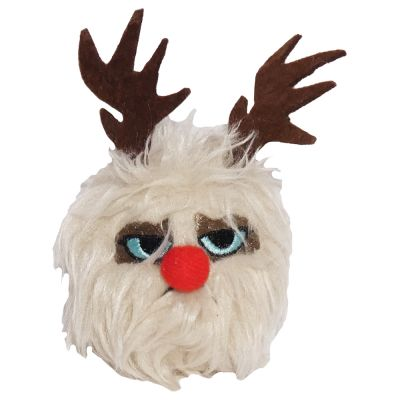 Grumpy Cat Reindeer Ball