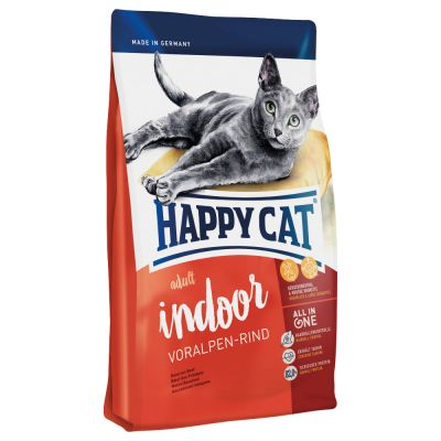 Happy Cat Indoor Adult Mixpaket mit 3 Sorten