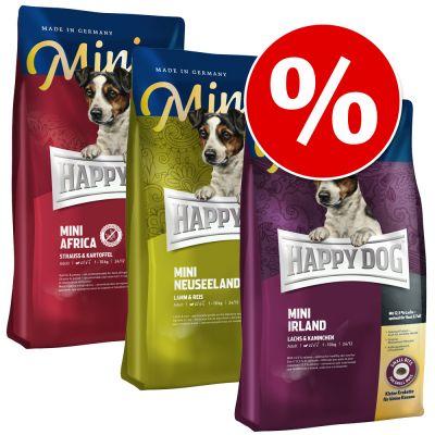 happy dog supreme mini 39 kleine weltreise 39 3 x 4 kg g nstig bei zooplus. Black Bedroom Furniture Sets. Home Design Ideas