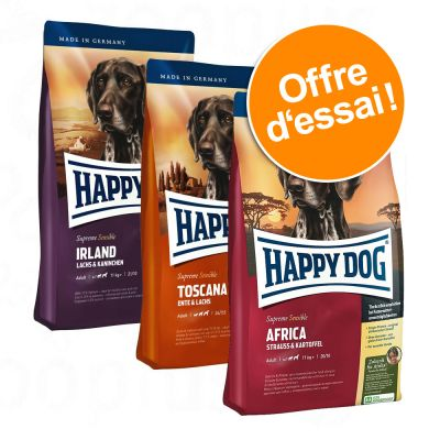 happy dog supreme tour du monde des saveurs croquettes pour chien zooplus. Black Bedroom Furniture Sets. Home Design Ideas