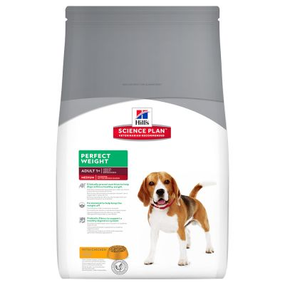 Hill's Canine Adult Perfect Weight Medium - Kip