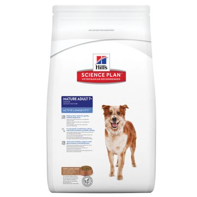 Hill's Canine Mature Adult Senior Lamm & Reis Hundefutter