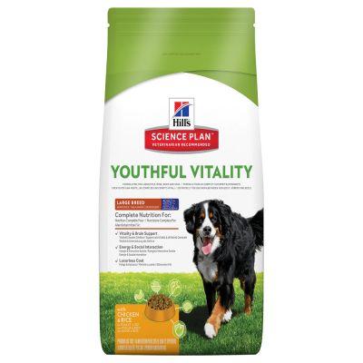 Hill's Canine 5+ Youthful Vitality Large Breed met Kip & Rijst Hondenvoer