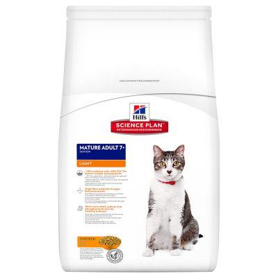 Hill's Feline Mature Adult 7+ Light Huhn