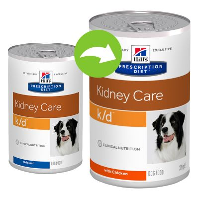 Hill´s Prescription Diet Canine k/d Renal Health Hondenvoer met Kip