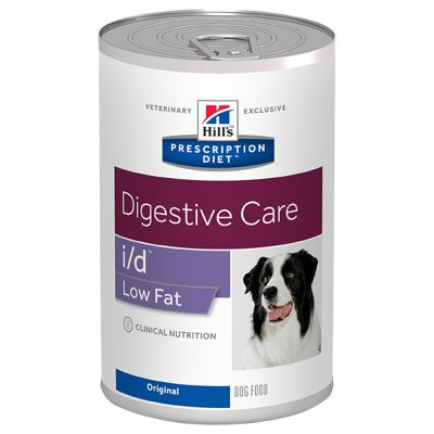 Hill's Prescription Diet i/d Low Fat Digestive Care Hundefutter Original