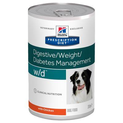 Hill's Prescription Diet w/d Digestive/Weight/Diabetes Management Hundefutter mit Huhn