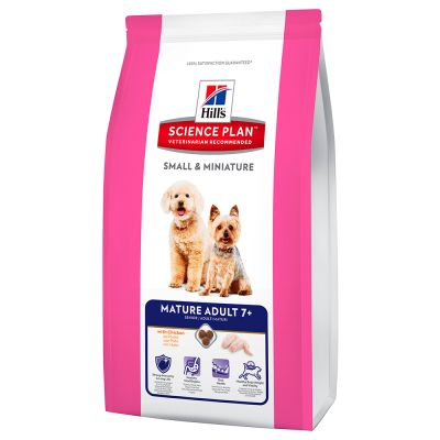 Hill's Science Plan Canin Small & Miniature Mature Adult 7+ Huhn