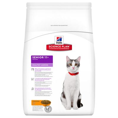 Hill's Science Plan Feline Senior Healthy Ageing  11+ Pollo