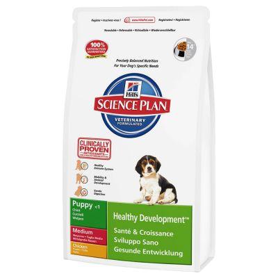 Hill's Science Plan Puppy Healthy Development Medium- Kip