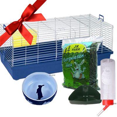 Indoor Starter Set: Cage & Accessories