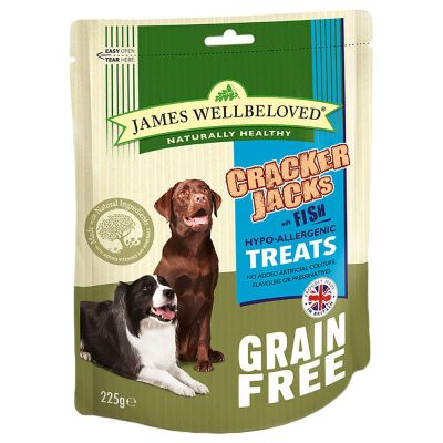 James Wellbeloved CrackerJacks Dog Treats – Fish