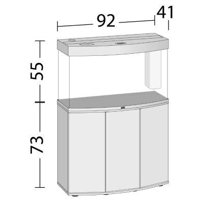 juwel aquarium kast combinatie vision 180. Black Bedroom Furniture Sets. Home Design Ideas