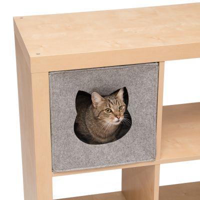 katzenh hle f r regale aus filz jetzt g nstig kaufen bei zooplus. Black Bedroom Furniture Sets. Home Design Ideas