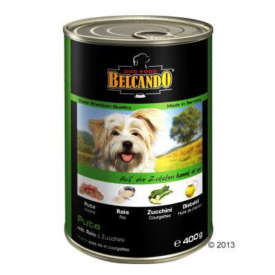 12,5 / 15 kg Belcando + 3 x 400 g Belcando Super Premium Nassfutter gratis!