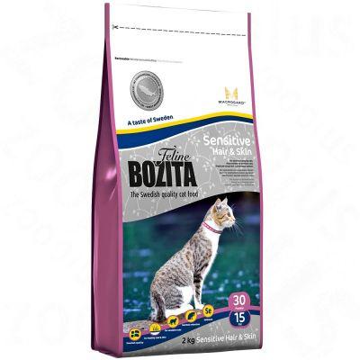 10 kg Bozita Feline + 8 x 370 g  Bozita Häppchen in Gelee Mixpaket gratis