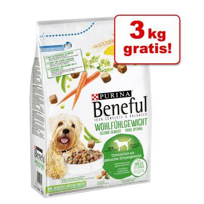 12 + 3 kg gratis! 15 kg Beneful Hundefutter im Bonusbag