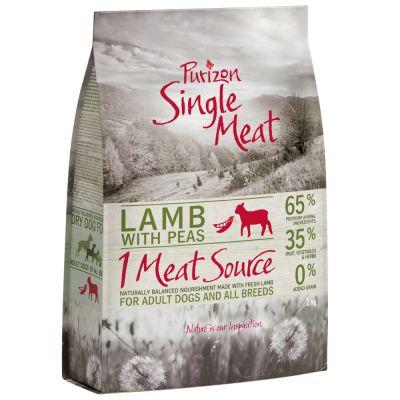 1 + 1 kg gratis! Purizon Single Meat für Hunde